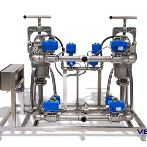 Vollautomatische Filteranlage / Fully automated filter unit
